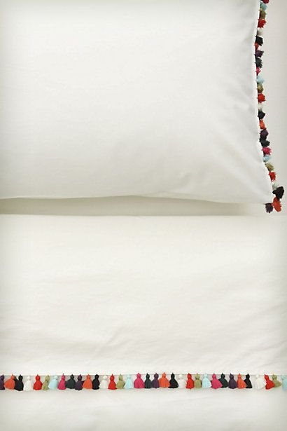 Pompom Pillows - Anthropologie.