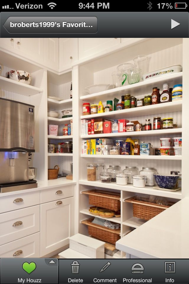 Just Give A Way For Cool Kitchen Pantry Design Ideas. Kitchen Pantry Design  Ideas Will Help You Arrange And Organize Your Kitchen To Be More Neat, Clean  And ...