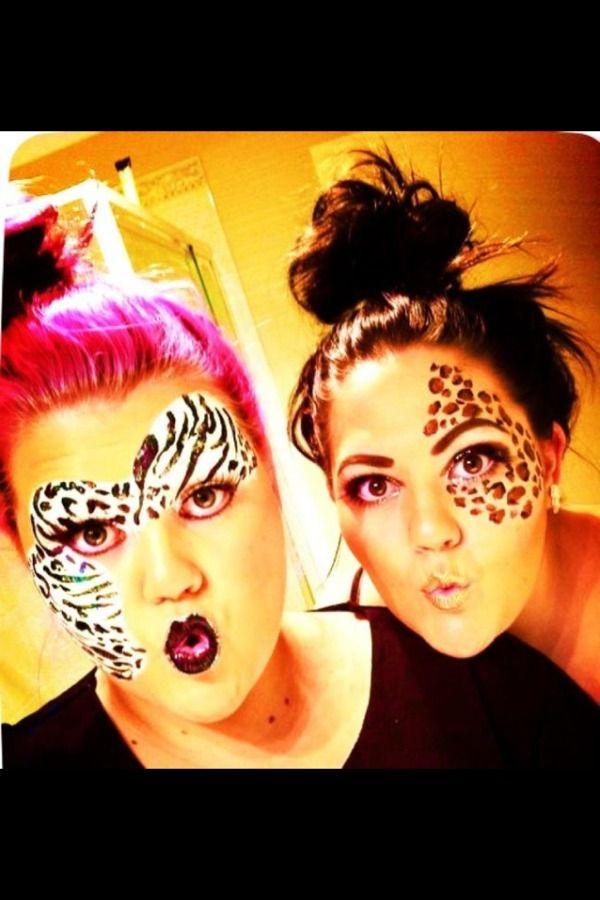 the leopard makeup