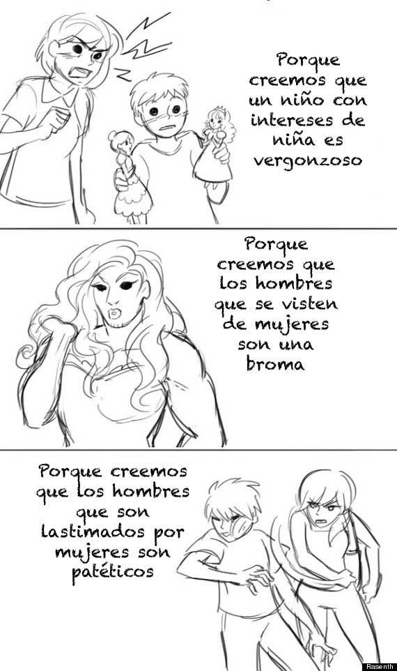 13 Este comic captura perfectamente cómo el feminismo nos ayuda a todos