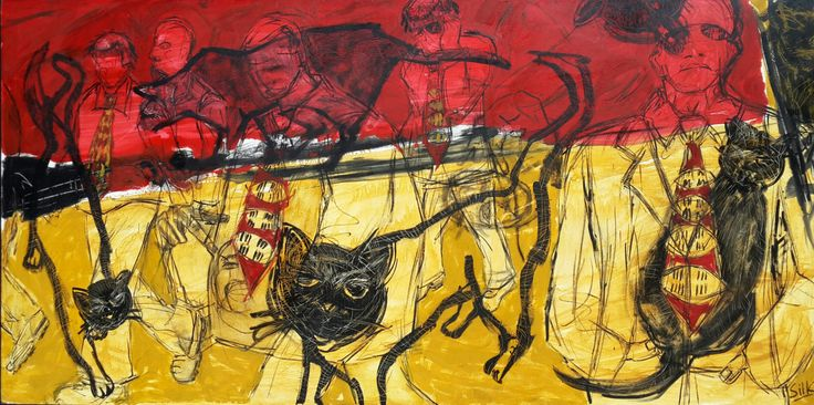 Michele Silk / mixed media on board ( sold ) for more work by Michele Email art@arteye.co.za