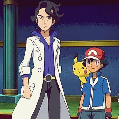 Anyone else think Professor Sycamore (Pokemon XY) looks like Anime Sherlock? Anyone else have a crush on him?
