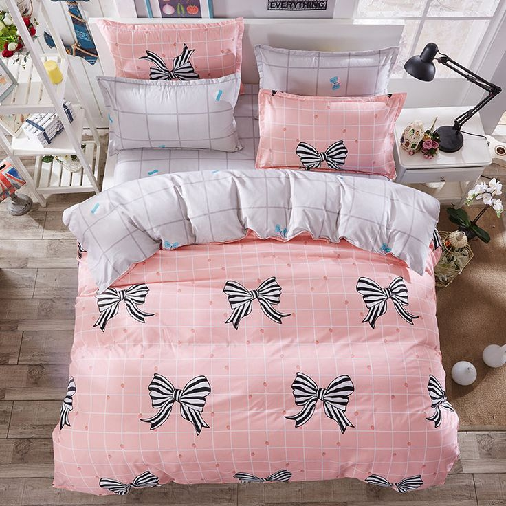 High Quality Duvet Cover 3/4 pcs Twin Full Queen Size Set of Bed Linen Luxury Bedding Set Floral Bed Linen Bedclothes
