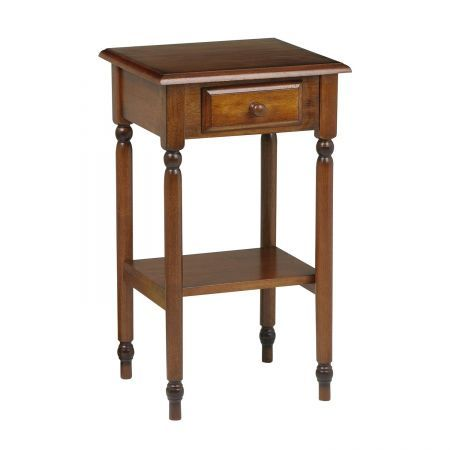 Office Star Office Star KH04 OSP Designs Knob Hill Telephone End Table