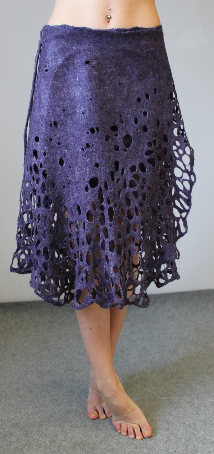 http://www.etsy.com/people/doseth?ref=ls_profile Felted skirt. €119,00, via Etsy.Pam dugger