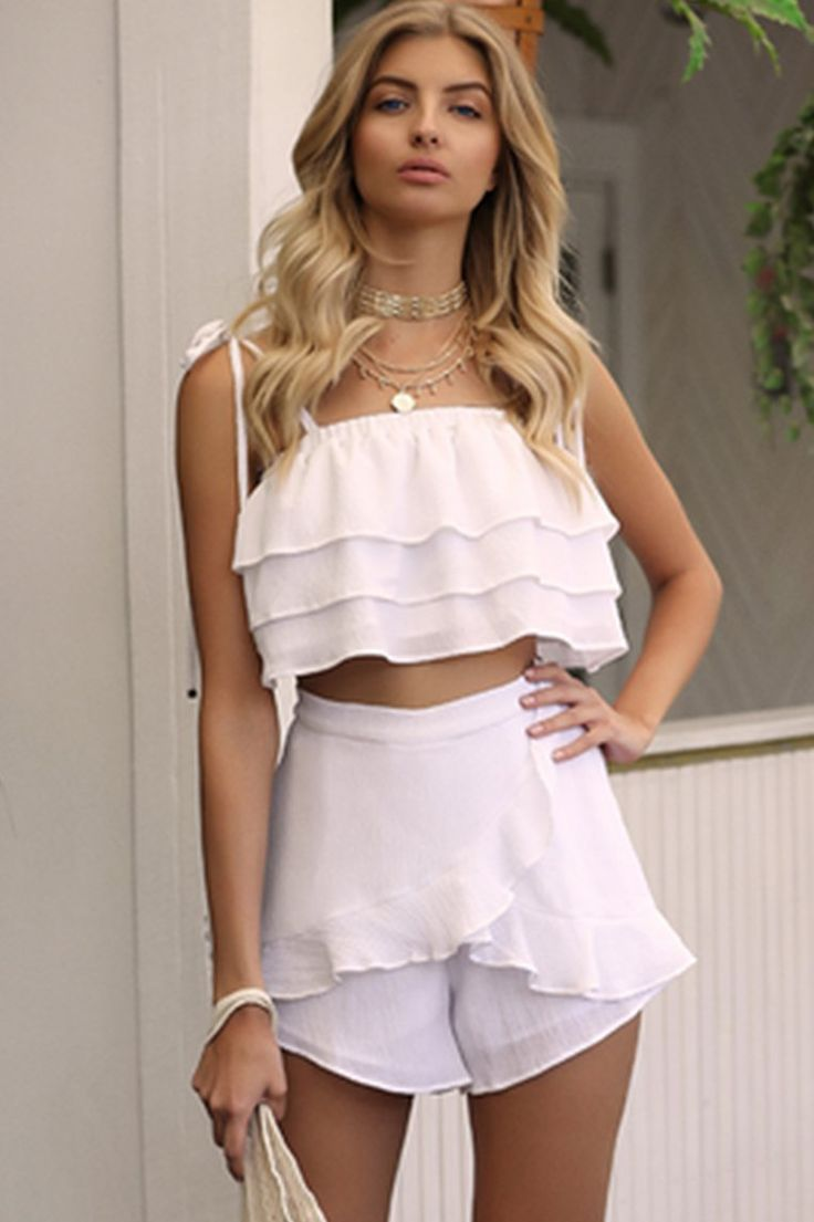 Runaway The Label - Royalty Top - White