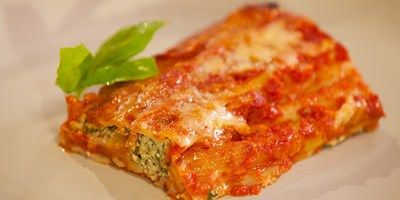 Tuna and Green Olive Cannelloni