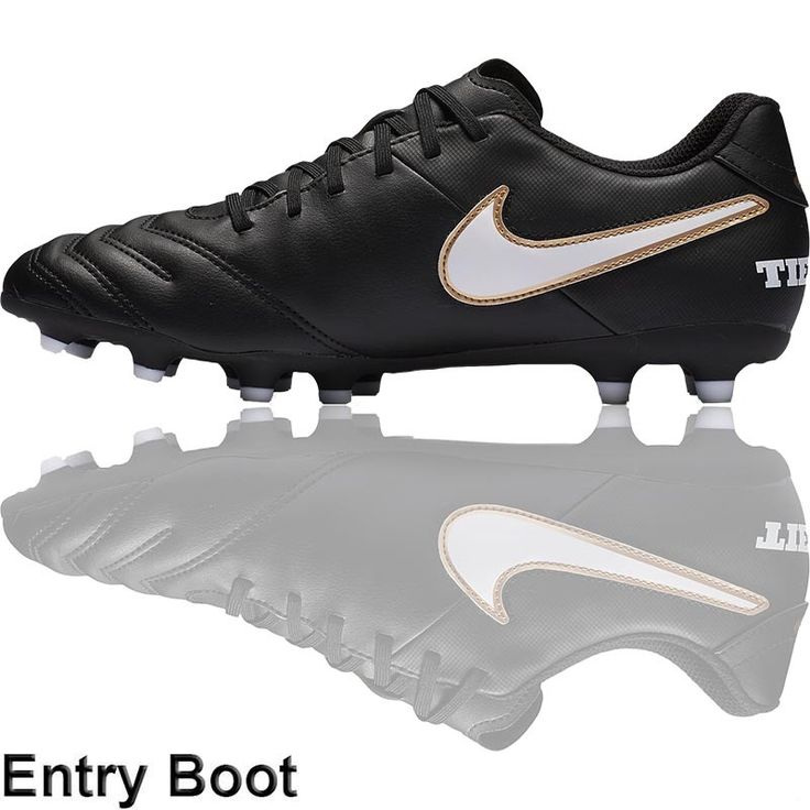 The Football Nation Ltd - Nike Tiempo Rio III Football Boots (FG - Black/White/Gold), �34.99 (http://www.thefootballnation.co.uk/nike-tiempo-rio-iii-football-boots-fg-black-white-gold-firm-ground/)