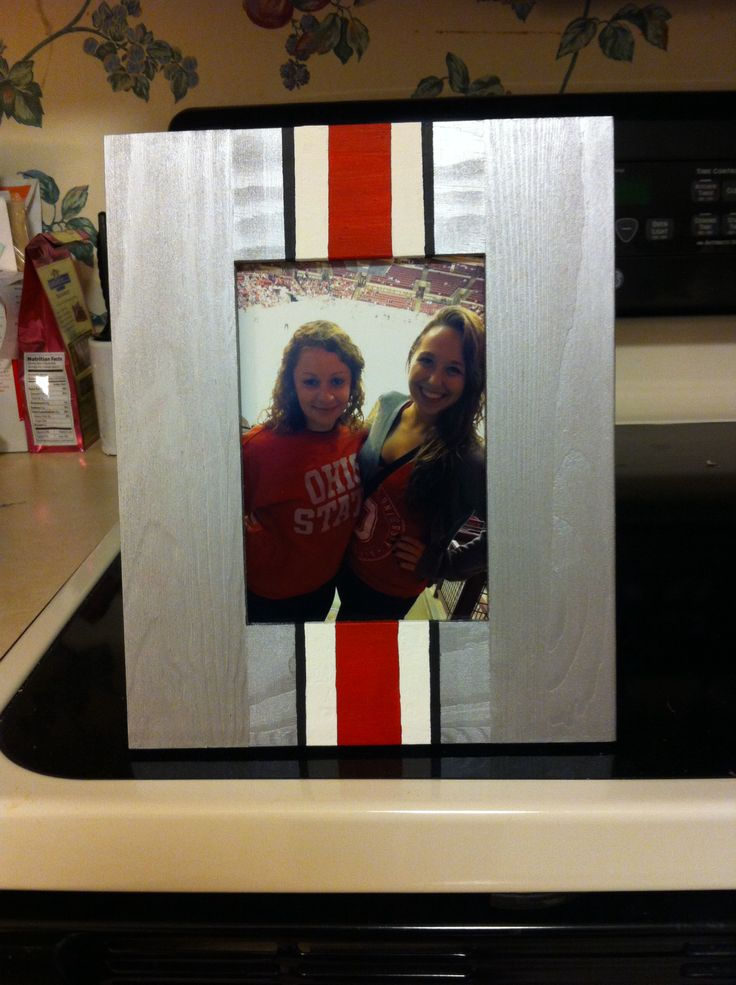 Ohio state picture frame