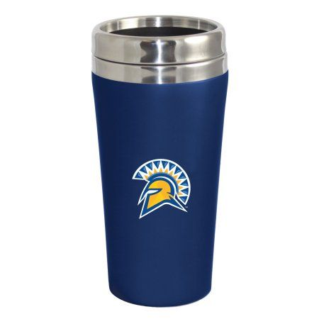 San Jose State University Spartans Double Walled Travel Tumbler, Blue