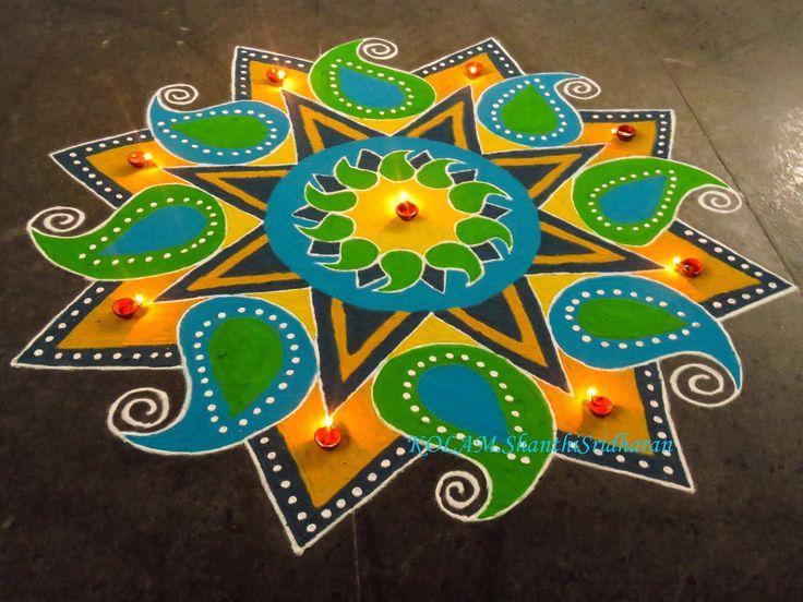 Kolam by Shanti Sridharan