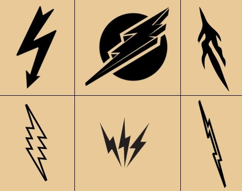 Kinds of lightning bolt tattoo designs  sc 1 st  Pinterest & 25+ trending Lightning bolt tattoo ideas on Pinterest | Finger ... azcodes.com