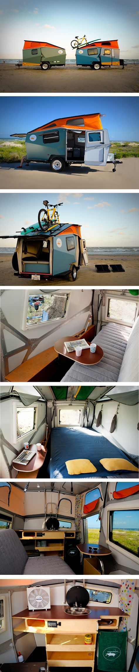 Cricket camper trailer