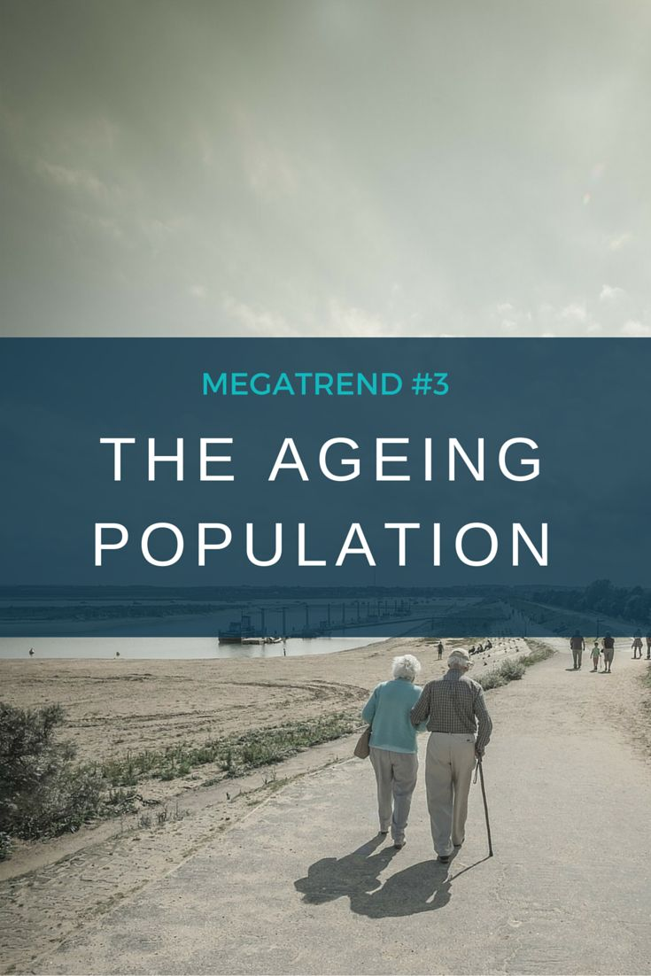 The world's population is ageing, mainly due to increased life expectancy, but also because women globally have had fewer children over the past 55 years.