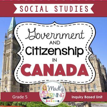 (Gr. 5) Government of Canada Inquiry Unit
