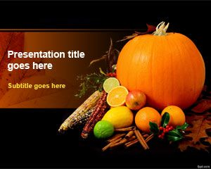Download free Thanksgiving Day PowerPoint Template for Microsoft PowerPoint presentations with an awesome Thanksgiving Day background design