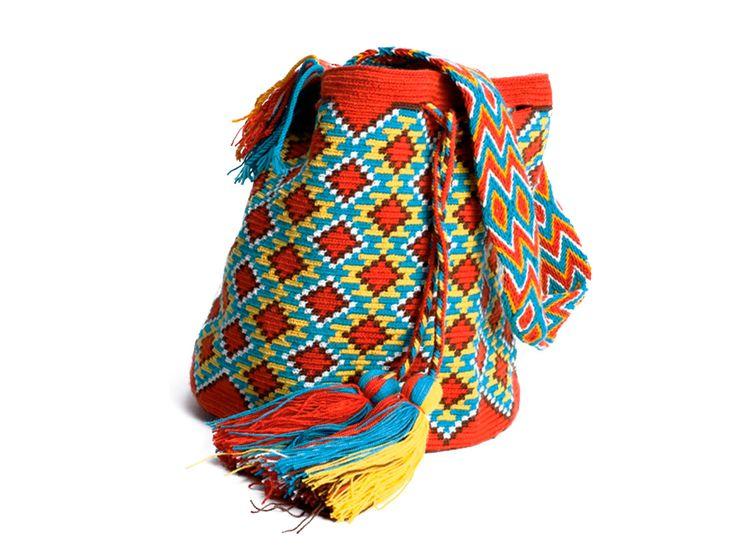 Mochila Wayuú Gaza Osonushi - Catálogo de Productos - Artesanías de Colombia