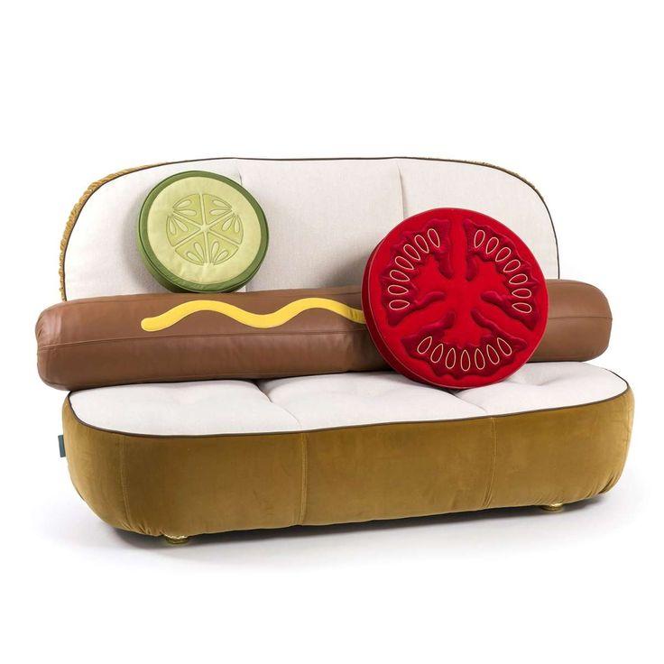 Hot dog sofa bank seletti 2zits banken hot dogs