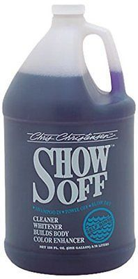 Other Dog Grooming 177794: Chris Christensen Show Off No Rinse Shampoo -> BUY IT NOW ONLY: $42.0 on eBay!