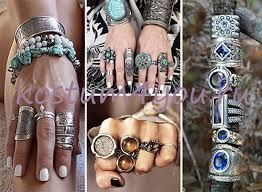 Картинки по запросу серебряные браслеты в стиле бохо