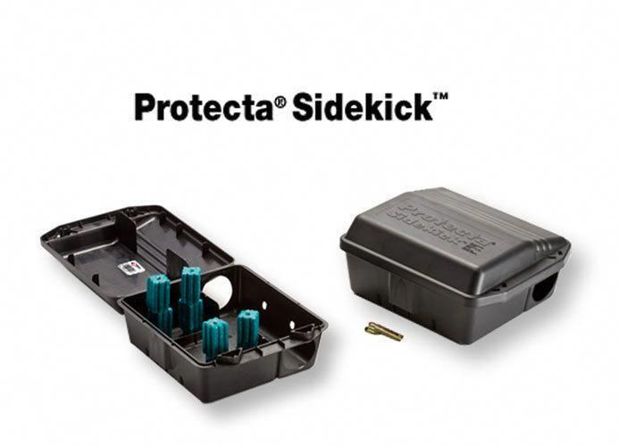 Details about 2 Protecta Sidekick Bait Stations Rat / Mice