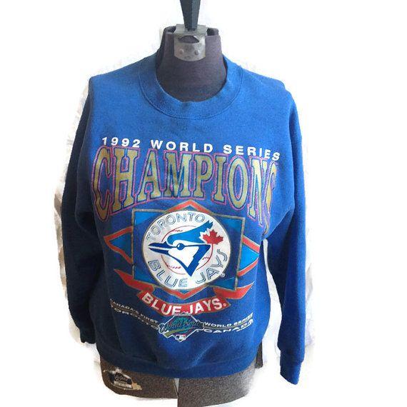 90's Toronto Blue Jays Crewneck Sweater / 1990's by RetroFreshTees