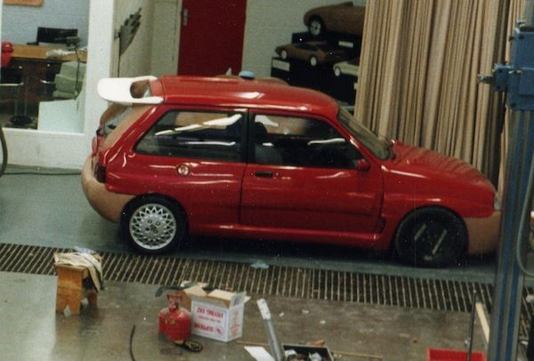 1991 Rover Metro SP Prototype > Powerd by 1.4l Turbo Engine with 120hp