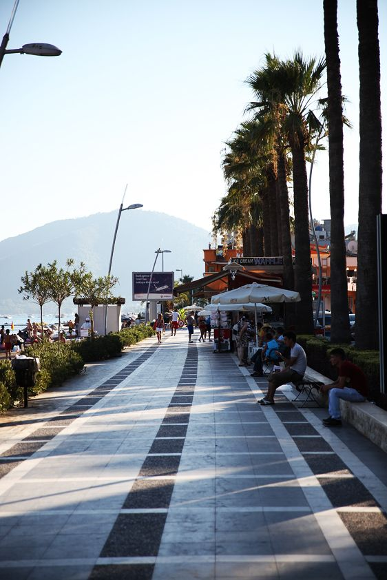 #Marmaris - Enjoy a romantic walk around bay area.