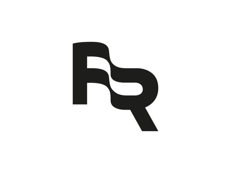 FR monogram / sign for FR foundation dedigned by Just brand Studio . This logo is Perfect