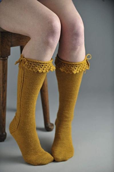 Bonneterie knee-high socks £3.99