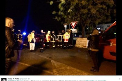 MONK BLOODBATH: Masked gunman SLITS THROAT of nun and kills man at Montpellier religious home