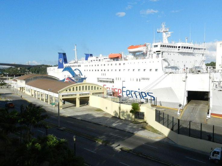 El Ferries sale a partir de este jueves a las 7 pm y llega el viernes a 8 am a Puerto Rico. La reparación de la rampa averiada tuvo uncos...