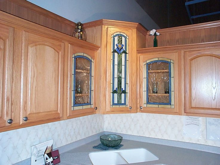 Corner Kitchen Cabinets With Glass Doors 60 Most Mean White Kitchen