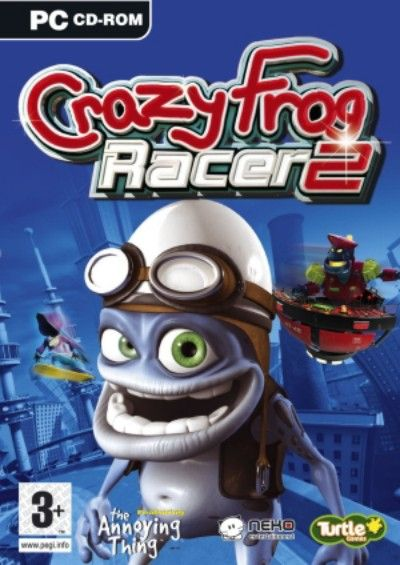 Crazy Frog Racer 2 (PC-ENG-2006)
