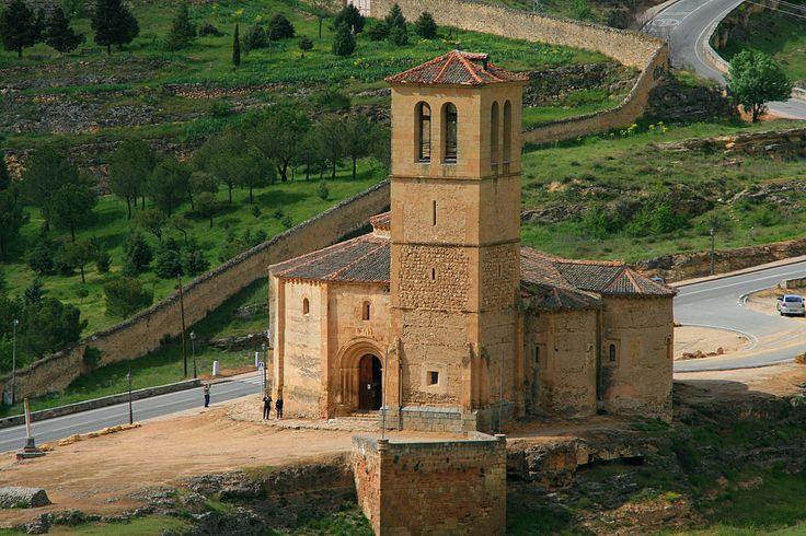 Церковь тамплиеров Ла Вера Крус в Сеговии