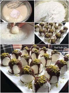 Hindistan Cevizli Çikolatalı Top Tarifi