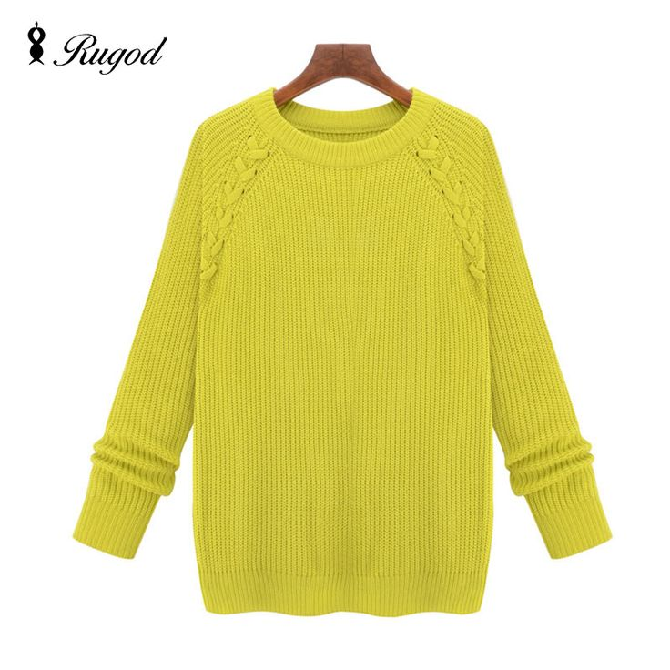 High Quality Knitted Sweater Woman 2017 Autumn Winter Thicken Women Sweaters And Pullovers Female Plus Size Jumper Pull Femme