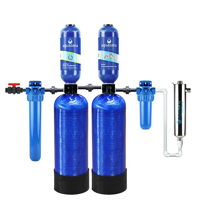 Whole Home Well Water Filter Simplysoft Descaler Aquasana In
