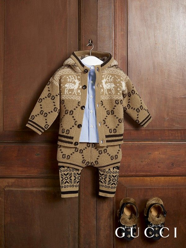 Gucci Fall Winter 2018 Children s Collection  embroidered motifs adorn the  new lineup. 6425249496
