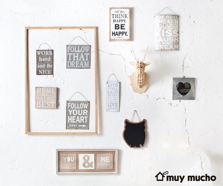 Decorar con cuadros con la colecci n de accesorios para for Decoracion de paredes con cuadros