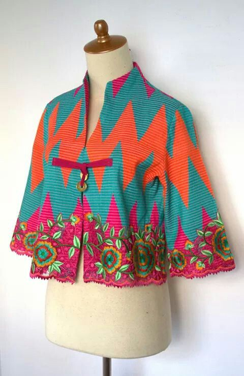 rang rang mix embroidery