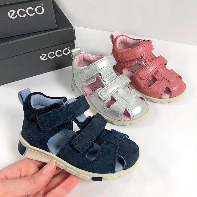 ECCO nyheder! 🏖️💛 Mini Strider sandalen