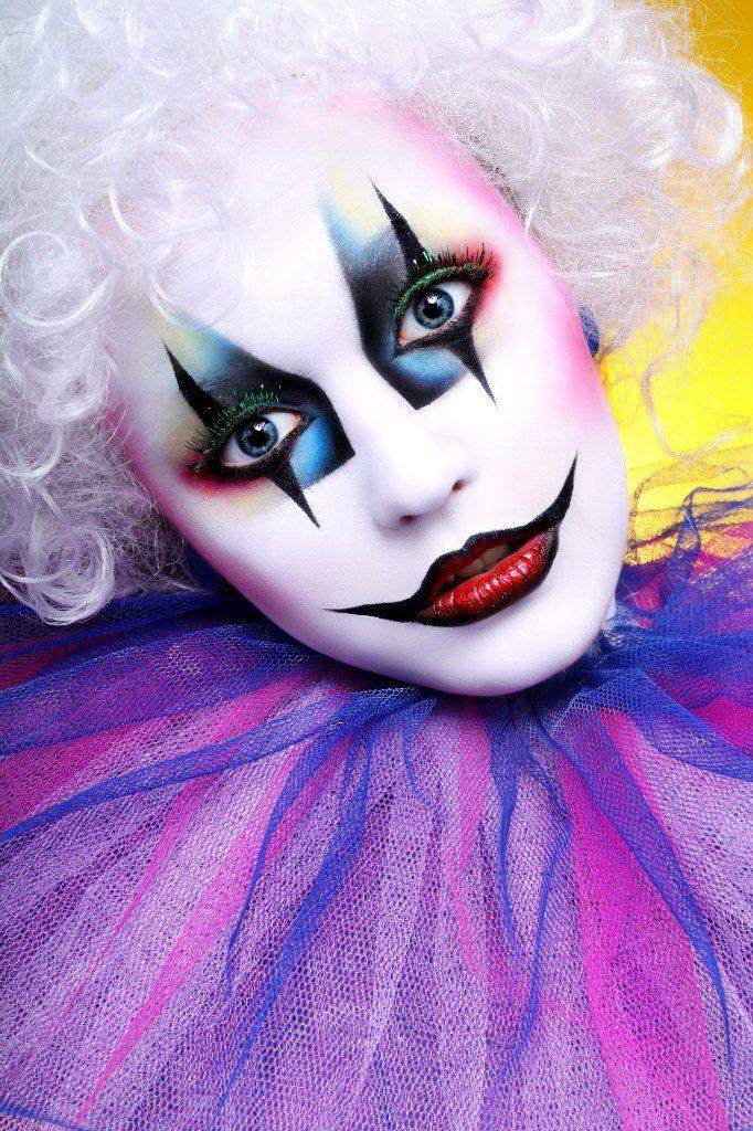 137 besten clown schminken bilder auf pinterest for Clown schminken bilder