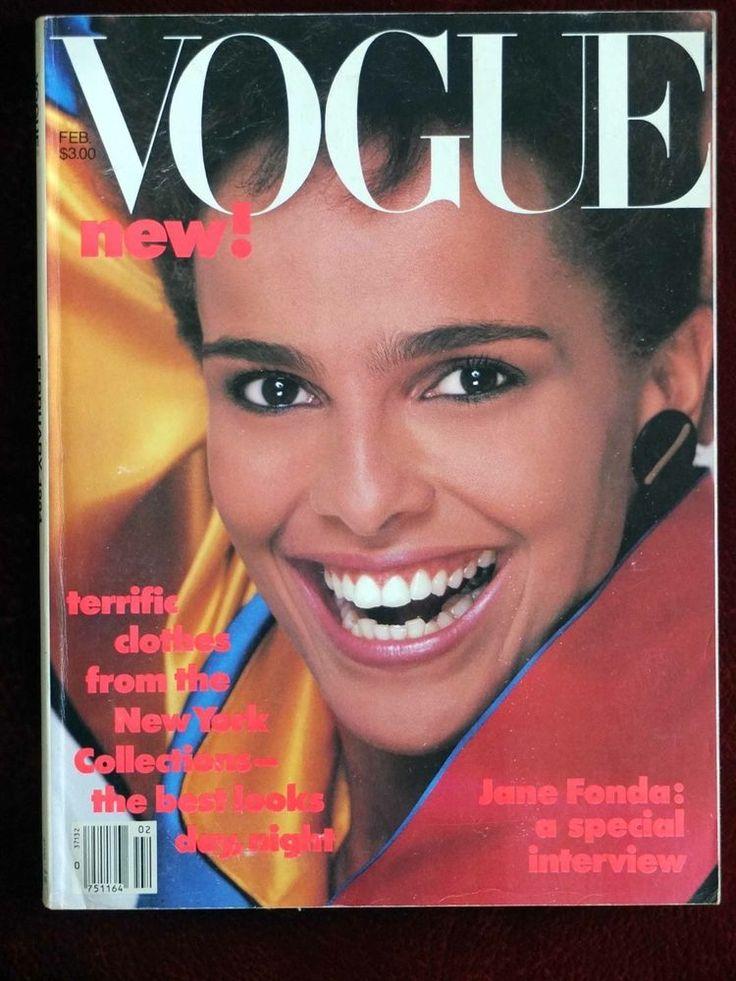 Vogue Magazine ~ February 1984 ~ Shari Belafonte Jane Fonda