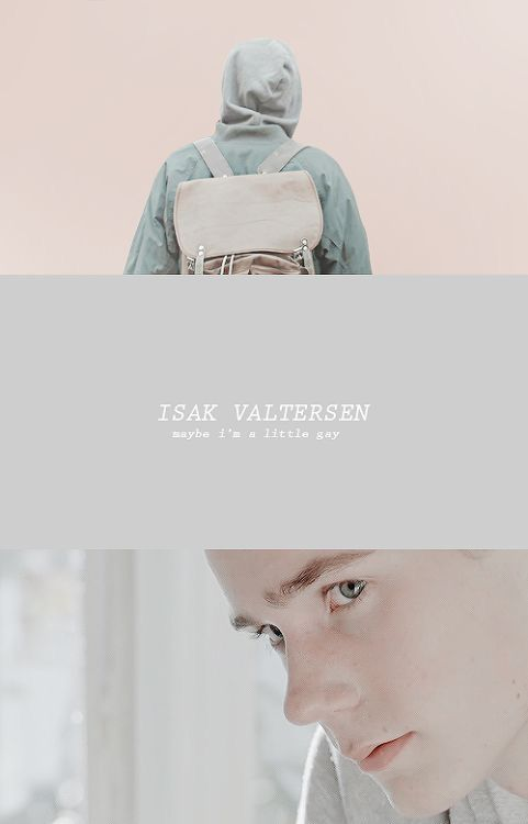 """""""Maybe I'm a little gay"""" -Isak #skam #quotes"""