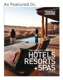The Cedar House Sport Hotel + Stella  Travel + Leisure Magazine Top 100