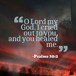 psalms 30:2