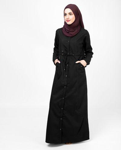 Long Black Shirt Jilbab