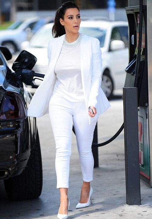 Image result for all white outfits