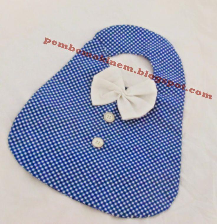 el emeği -hand made -mutlu tasarımlar: mavi önlük